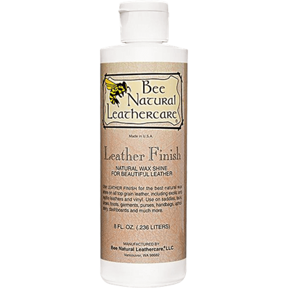 Bee Natural Leather Finish - 8 oz