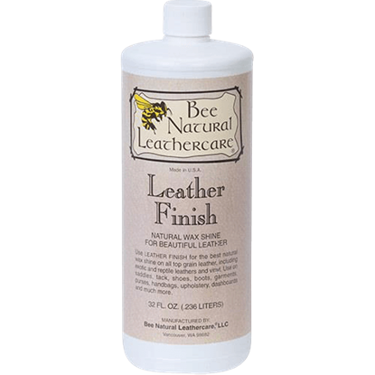 Bee Natural Leather Finish - Quart