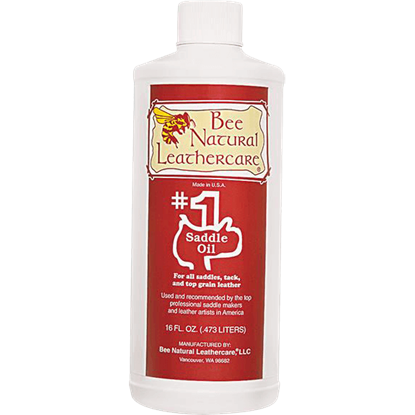 Bee Natural #1 Saddle Oil - Pint