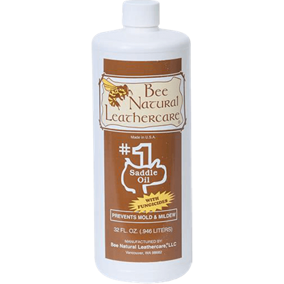 Bee Natural #1 Saddle Oil with Added Protection - Quart