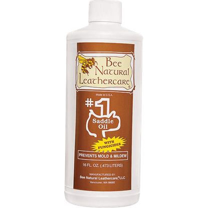 Bee Natural #1 Saddle Oil with Added Protection - Pint