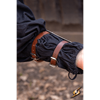 Scout Arm Guards - Polished Steel