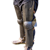 Soldier Leg Protection - Epic Dark