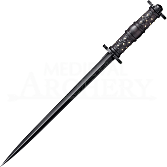 Rosewood Rondel Dagger