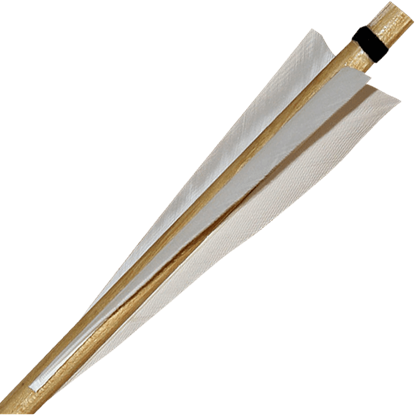 Traditional Flight Warbow Arrows - Set of 3