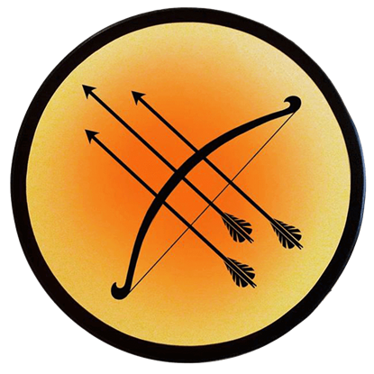 Wooden Archers Shield
