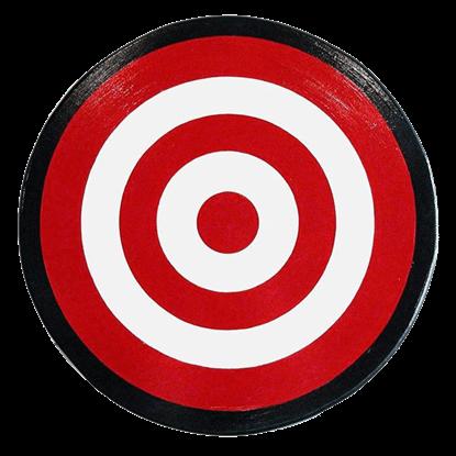 Wooden Archers Bulls Eye Shield