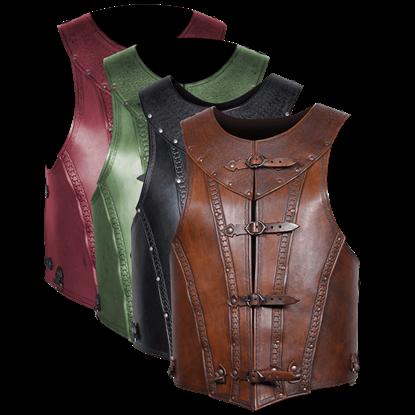 Antonius Leather Cuirass