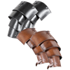 Lorica Leather Spaulders