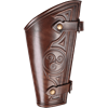Celtic Triskele Leather Archers Bracer