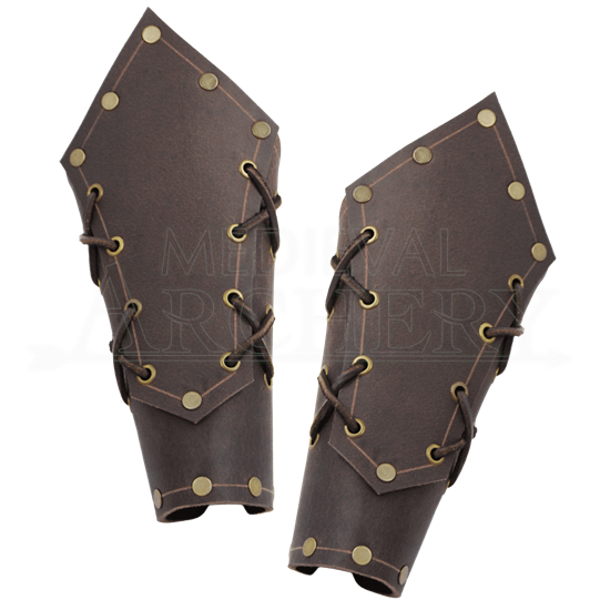 Borge Leather Bracers