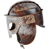 Odomar Viking Leather Helmet