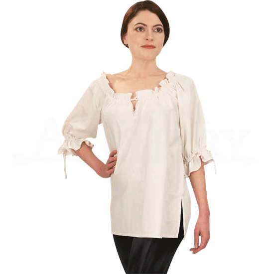 Ladies Handwoven Medieval Blouse