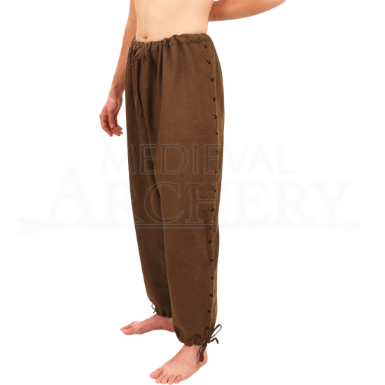 Mens Handwoven Drawstring Pants