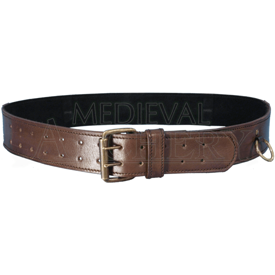 Leather Ring Belt