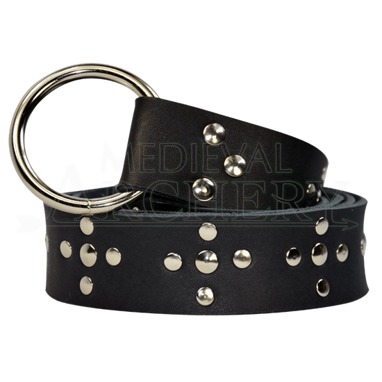 Crusader Cross Ring Belt