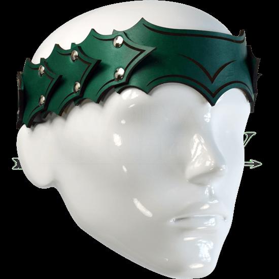 Dragonscale Leather Headband