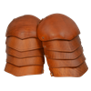 Molded Leather Spaulders