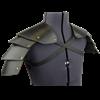 Knights Leather Spaulders