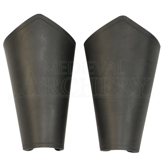 Plain Leather Arm Bracers