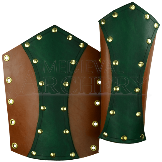 Knight's Leather Bracers