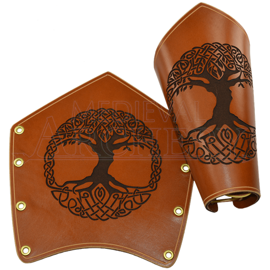 Celtic Tree of Life Arm Bracers
