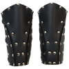 Dark Rogue Leather Bracers