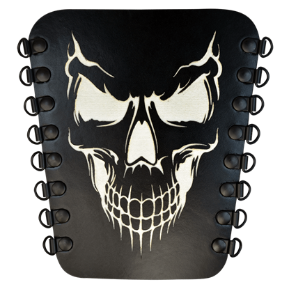 Grinning Skull Archers Arm Guard
