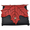 Elven Leaf Leather Pouch
