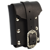 Medium Gothic Leather Belt Pouch