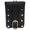 Large  Gothic Leather Belt Pouch