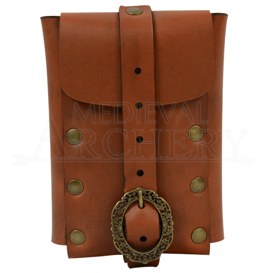 Large Nobles Leather Belt Pouch
