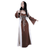 Ladies Layered Medieval Dress