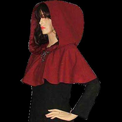 Medieval Hood With Mantle