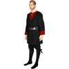 Medieval Tunic with Leather Trim