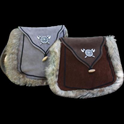 Norse Fur Trimmed Bag