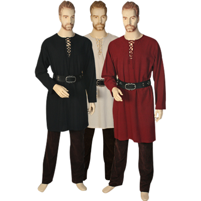 Medieval Lace-Up Tunic