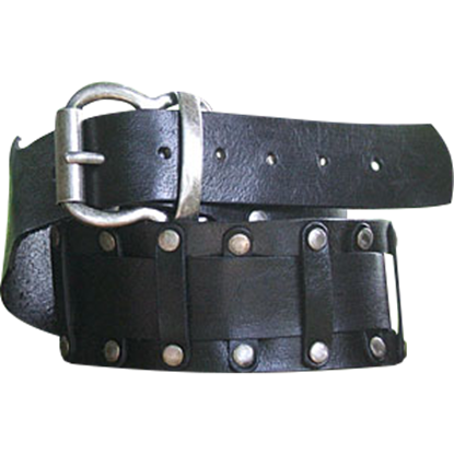 Doubled Norman Buckle Belt