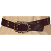 Studded Brown Buckle Belt