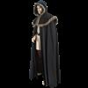 Medieval Fur Trimmed Shoulder Cloak