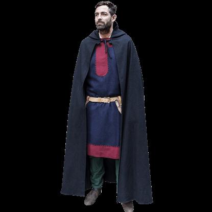 Hibernus Medieval Hooded Cloak