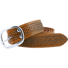 Embossed Celtic Buckle Belt