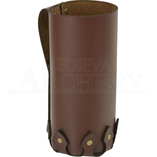 825ad67977 Simple Leather Bottle Holder - DK1074 by Traditional Archery, Traditional  Bows, Medieval Bows, Fantasy Bows, Traditional Arrows and Quivers by  Medieval ...