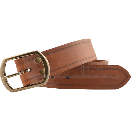 Leather Medieval Waist Belt