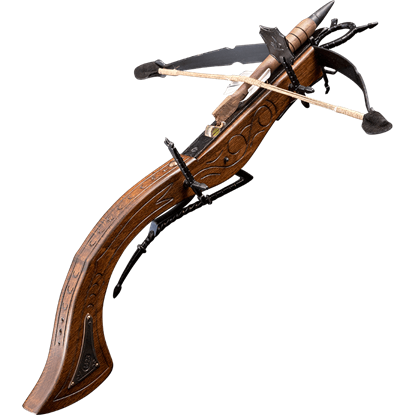 Curved Medieval Crossbow