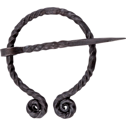 Viking Forged Penannular Brooch