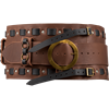 Warriors Woven Wide Belt