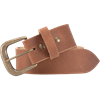 Double Studded Medieval Leather Belt - Brown