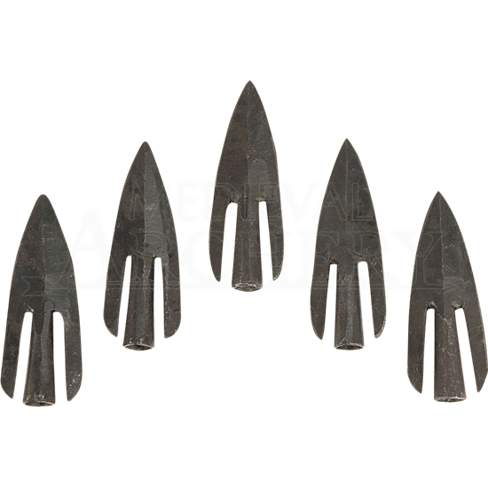 Poitiers Barbed Arrowhead Five Pack