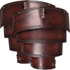 Leather Lorica Spaulders